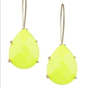 Kendra Scott Jewelry - Kendra Scott NEON YELLOW Allison Drop Earrings